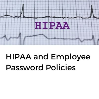 Hospital Password Policies
