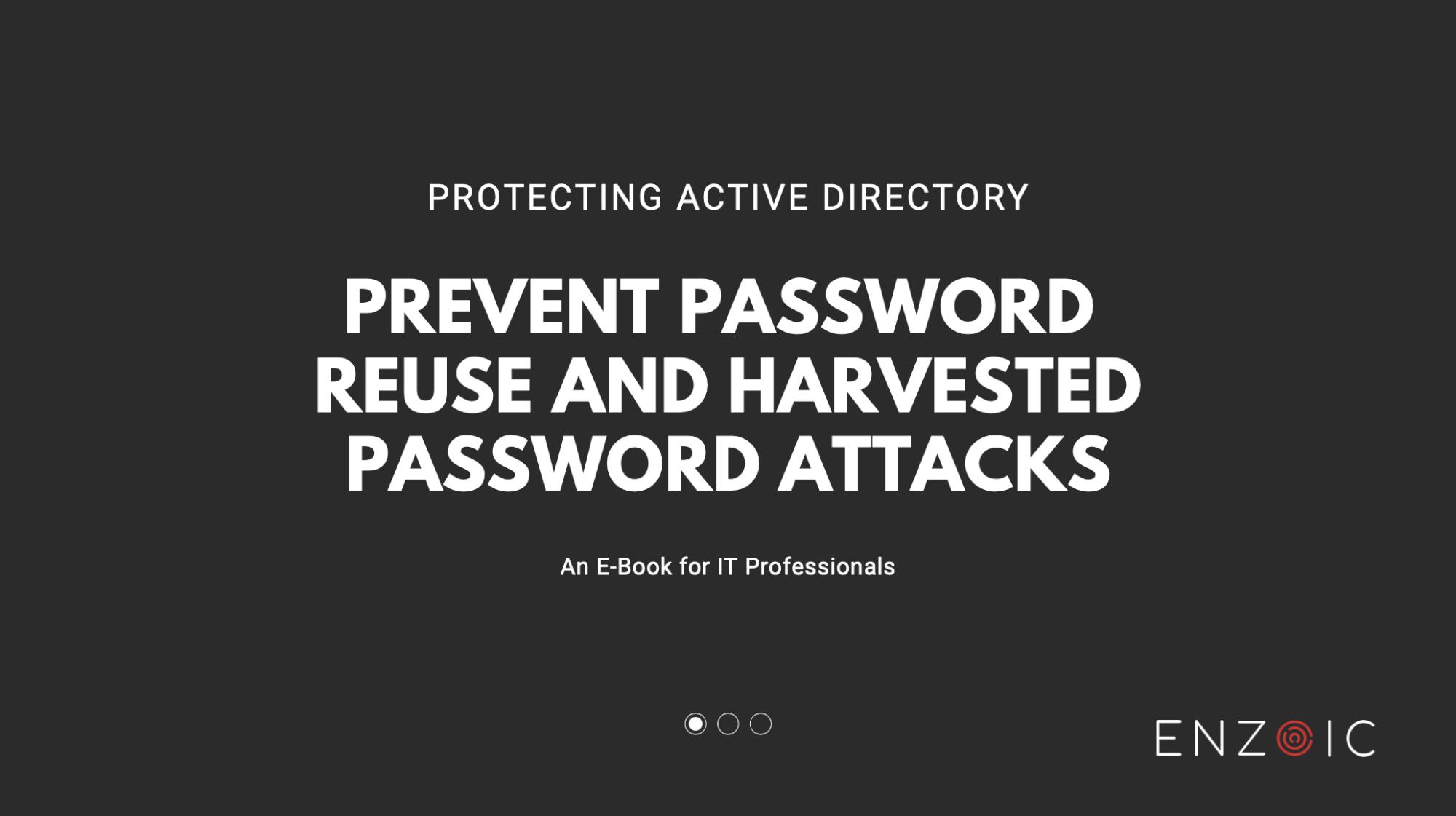 Password Reuse E-Book Cover