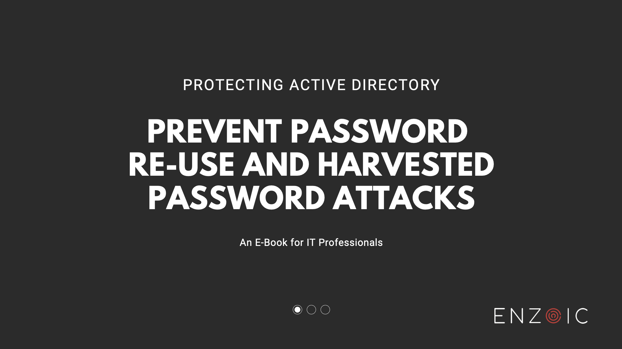 Protecting Active Directory Cover