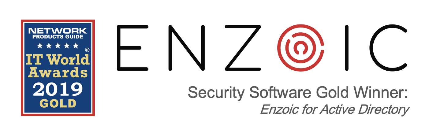 Enzoic Honored to be a 2019 IT World Awards Gold Winner
