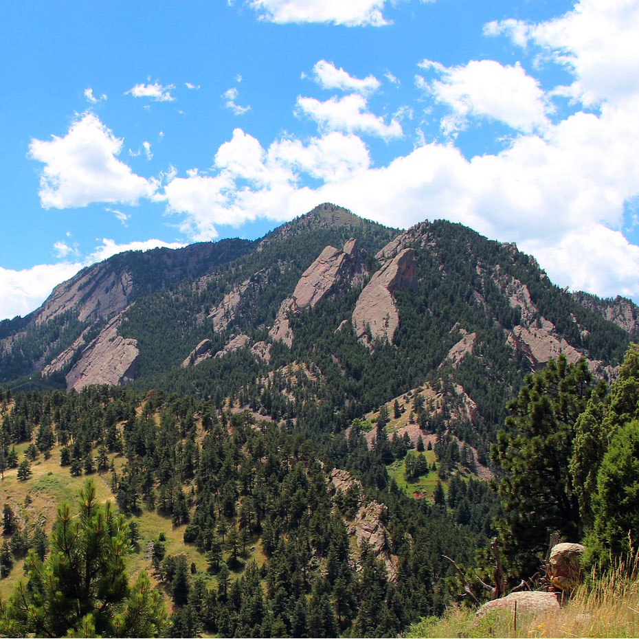 Mountains in Boulder, CO