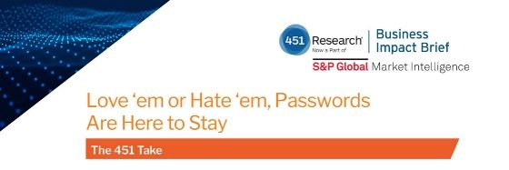 state of password security 451